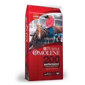 Purina Mills Omolene #200 Horse Feed