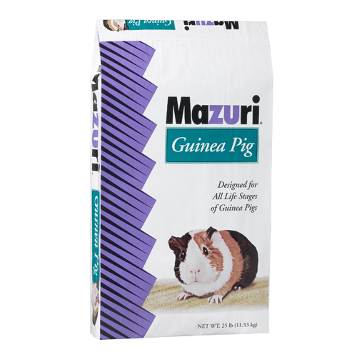 Purina mills mazuri guinea pig pellets 25 lb nischwitz for Purina game fish chow