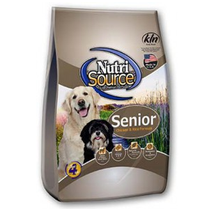 NutriSource® Senior Dog Chicken and Rice Formula 30#