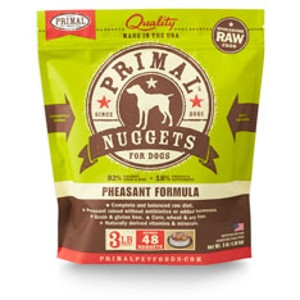 Primal Canine Pheasant Nuggets 3Lb