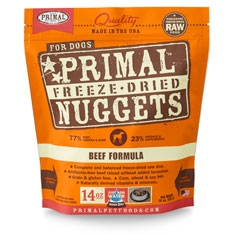 Primal Canine Beef Freeze Dried Formula 14oz