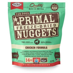 Primal Canine Chicken Freeze Dried Formula 14oz