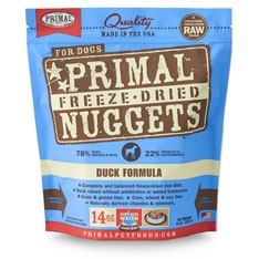 Primal Freeze Dried Dog Duck Nuggets 14Oz