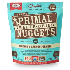 Primal Feline Chicken-Salmon Freeze Dried Formula 14oz