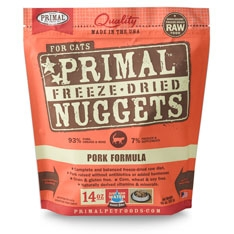 Primal Feline Pork Freeze Dried Formula