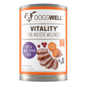 Dogswell Vitality™ Duck & Sweet Potato 12/13oz