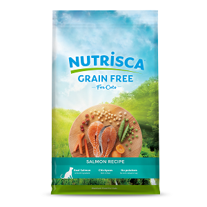 Nutrisca Grain Free SalmonDry Cat Food