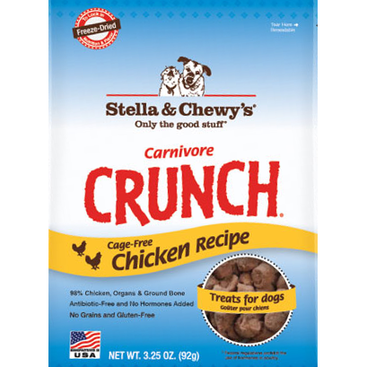 Stella & Chewy's Carnivore Crunch Freeze Dried Chicken Treats 4 oz.