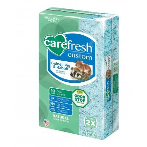Carefresh® Custom Guinea Pig & Rabbit Natural Paper Bedding- Blue, 50L