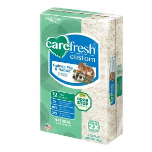 Carefresh® Custom Guinea Pig & Rabbit Natural Paper Bedding- White, 23L