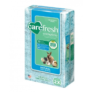 Carefresh® Complete Natural Paper Bedding- Blue, 10L