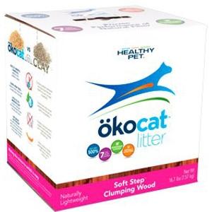 Soft Step™ Wood Clumping Cat Litter- 16.7lbs