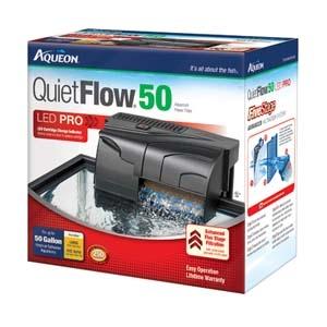 Aqueon QuietFlow™ 50 Power Filter