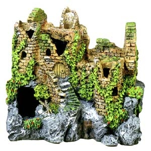 Exotic Environments® Forgotten Ruins Crumbling Castle
