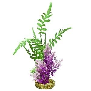 ColorBurst Florals® Fiesta Aqua Seagrass – Green/Purple