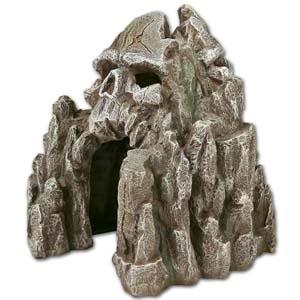 Exotic Environments® Skull Mountain Small Grey