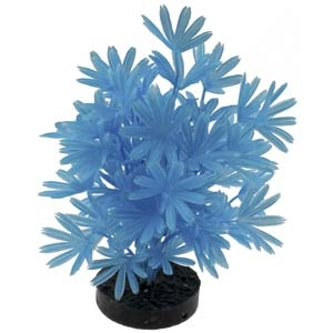 ColorBurst Florals® Palm Plant – Neon Blue