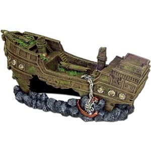 Exotic Environments® JUMBO Size Shipwreck