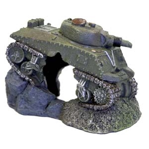 Exotic Environments® Army Tank w/Cave