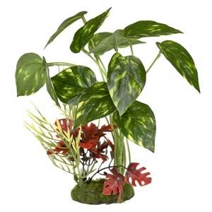 ColorBurst Florals® Pothos Variegated Leaf Cluster