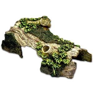 Exotic Environments® Bent Log Hide-Away Small