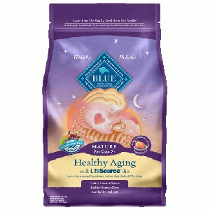 Blue Buffalo Mature Chicken/Brown Rice Cat 7#
