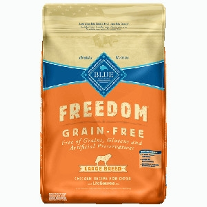 Blue Buffalo Freedom Chicken Large Breed Dry Dog Food, 24 lbs.