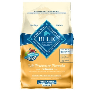 Blue Buffalo Small Breed Healthy Weight Chicken/Brown Rice Dog 6#