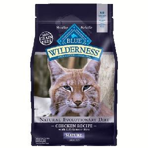 Blue Buffalo Wilderness Mature Chicken Cat 5# C=4