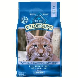 Blue Buffalo Wilderness Indoor Chicken Cat 2# C=6