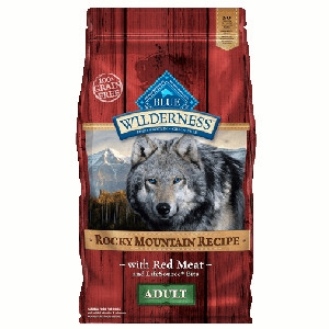 Blue Buffalo Wilderness Rocky Mountain Recipe Red Meat Dog 22#