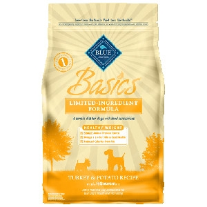 BLUE Basics® Healthy Weight For Adult Dogs -Turkey & Potato