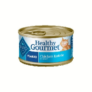 Blue Buffalo Healthy Gourmet Flaked Chicken Cat 24/3OZ