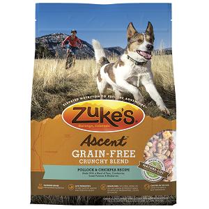 Zuke's Ascent™ Grain-Free Crunchy Blend Pollock & Chickpea Recipe