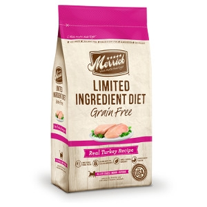 Merrick Limited Ingredient Diet Real Turkey Recipe for Cats- 12lbs