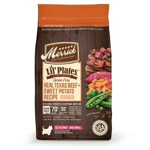 MerrickLil' Plates Grain Free Real Texas Beef + Sweet Potato Recipe for DOgs- 12lbs