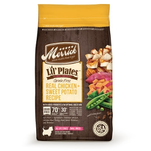 MerrickLil' Plates Grain Free Real Chicken + Sweet Potatoes Recipe for Dogs- 12lbs