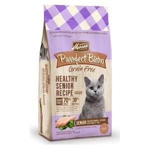 MerrickPurrfect Bistro Grain Free Healthy Senior Recipe for Cats- 7lbs