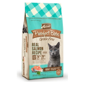 MerrickPurrfect Bistro Grain Free Real Salmon Recipe for Cats- 7lbs