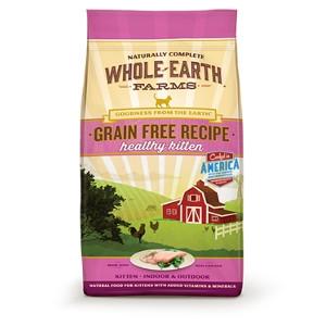 Whole Earth Farms Grain Free Healthy Kitten Recipe- 10lbs