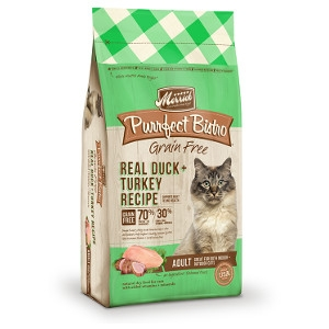 MerrickPurrfect Bistro Real Duck + Turkey Recipe for Cats- 12lbs