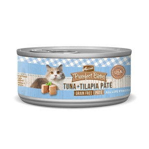 MerrickPurrfect Bistro Tuna & Tilapia Pate for Cats- 5.5oz