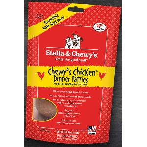 Chewy's Chicken Freeze-Dried Dinner Patties for Dogs 15 oz.