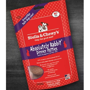 Absolutely Rabbit Freeze-Dried Dinner Patties for Dogs 15 oz.