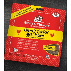 Chewy's Chicken Meal Mixers for Dogs- 3.5oz