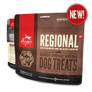 Orijen Freeze-Dried Reginal Red Treats for Dogs- 1.5oz