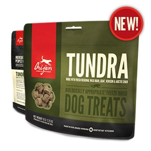 Orijen Freeze-Dried Tundra Treats for Dogs- 3.5oz