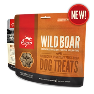 Orijen Freeze-Dried Wild Boar Treats for Dogs