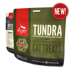 Orijen Freeze-Dried Tundra Cat Treats- 1.25oz