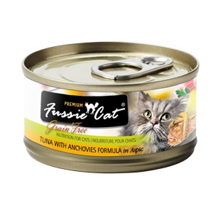 Fussie Cat® Tuna with Anchovies Canned Cat Food